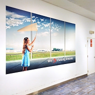 Project: Brussels Airport muurstickers