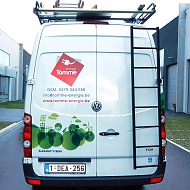 Project: Energie Tomme - wrapping bestelwagen