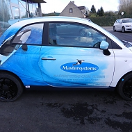 Ontwerp: IRS BTech - Project: IRS BTech - Mastersystems - full car wrap