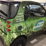 Ontwerp: NAM Grass - Project: NAM Grass - full car wrap