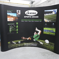 Ontwerp: Sports & Leisure Group - Domo Project: Pop-up Domo Sports Grass