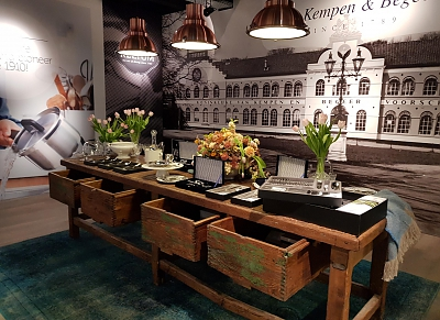 The Cookware Company Aankleding winkel Trade Mart Brussels ©